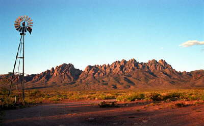 The mountains north of Las Cruces - on the way to Silver City